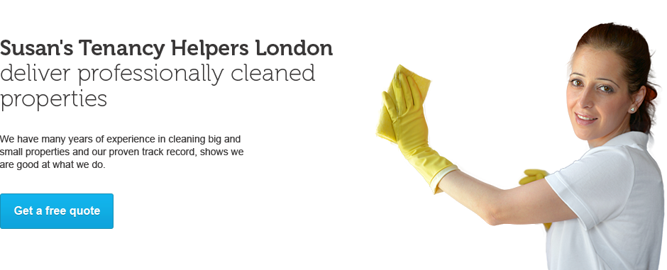 Susan's Tenancy Helpers Deliver Professionally Cleaned properties
